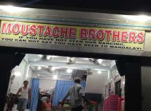 Moustach brothers Myanmar