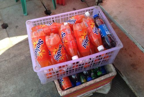dehydrated drink in Myanmar SunKist