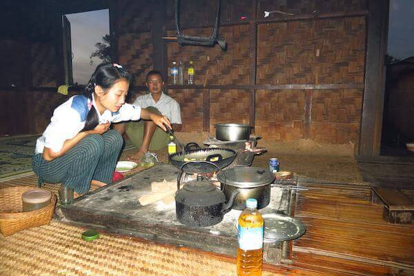 food included on the kalaw trek