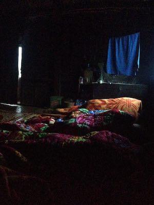 Kalaw trek homestay sleeping bags