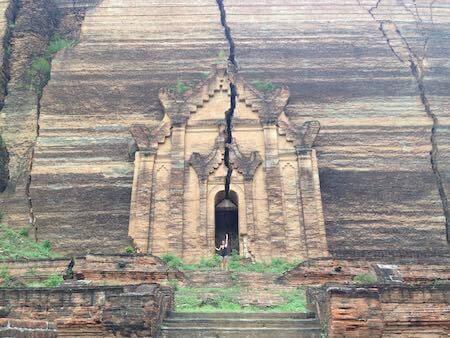 mingun pagoda temple mandalay